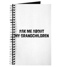 Ask Me About My Grandchildren Journal