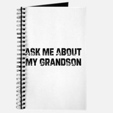 Ask Me About My Grandson Journal
