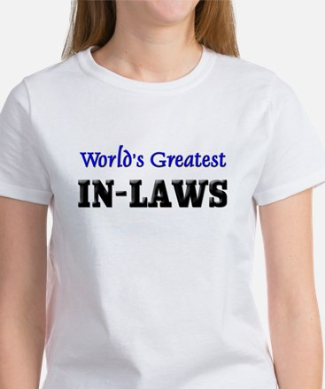 World's Greatest IN-LAWS Women's T-Shirt