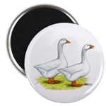 Embden Geese Magnet
