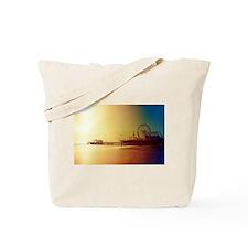 Cute Santa monica Tote Bag