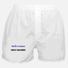 World's Greatest GREAT GRANDSON Boxer Shorts