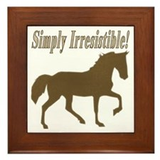 Simply Irresistible! Framed Tile