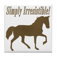 Simply Irresistible! Tile Coaster