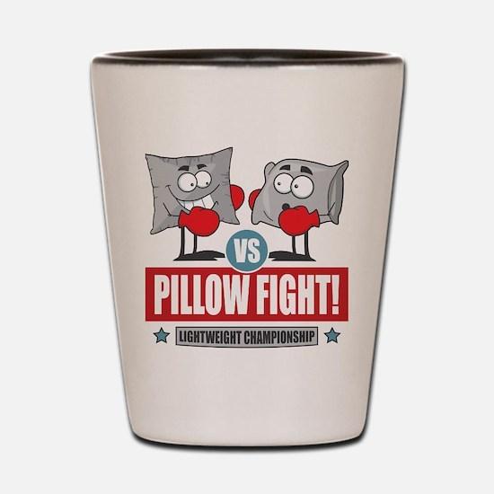 Pillow Fight! Shot Glass