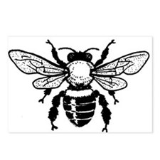 Honey Bee Postcards (Package of 8)