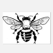 Honey Bee Postcards (Package of 8)