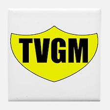 TVGM Tile Coaster