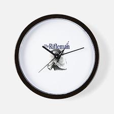 The Rifleman Wall Clock