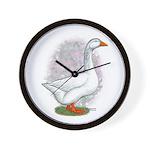Embden Gander Wall Clock