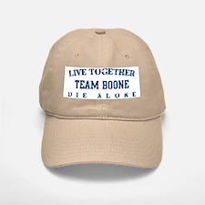 Team Boone - Live Together Baseball Baseball Cap