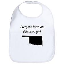 Everyone Loves An Oklahoma Girl Bib