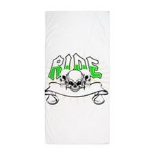 Cute Bone on Beach Towel