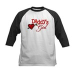 Daddy's Girl Kids Baseball Jersey