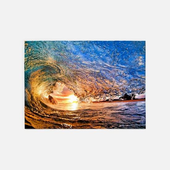 Summer Wave 5'x7'Area Rug