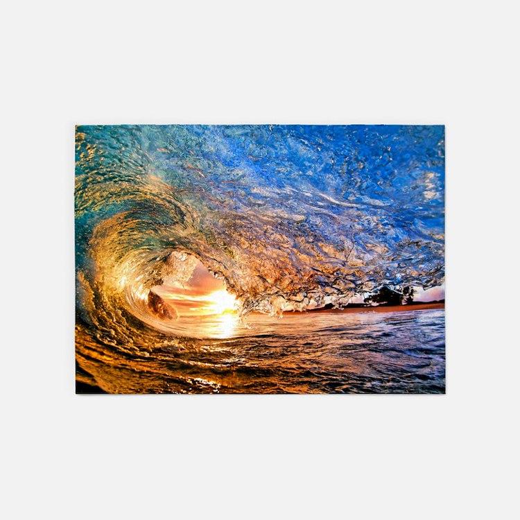 Surfboard Area Rugs: Hawaii Surf Rugs, Hawaii Surf Area Rugs