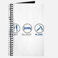 Eat Sleep Mine Journal