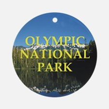 ABH Olympic NP Round Ornament