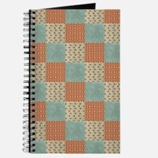 Cute Star and square quilt pattern Journal