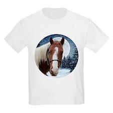 Paint Horse Winter T-Shirt