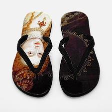 Queen Elizabeth I Flip Flops