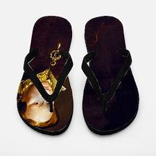Queen Mary I. Flip Flops