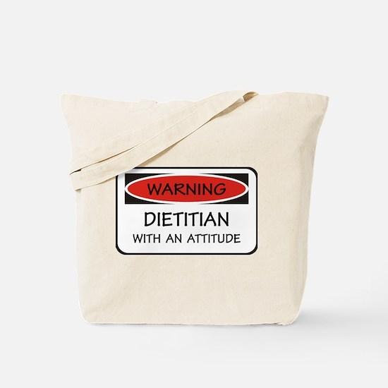 Attitude Dietitian Tote Bag