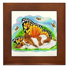 Papillon Mystical Monarch Framed Tile