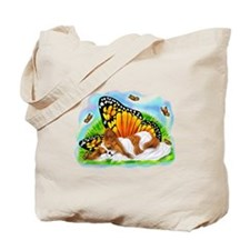 Papillon Mystical Monarch Tote Bag