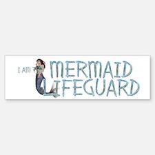 Mermaid Lifeguard (bumper) Bumper Bumper Bumper Sticker