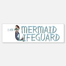 Mermaid Lifeguard Sticker (Bumper)