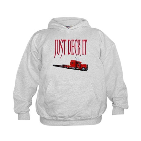 Just Deck It Kids Hoodie