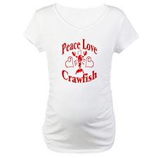 Peace Love Crawfish Shirt