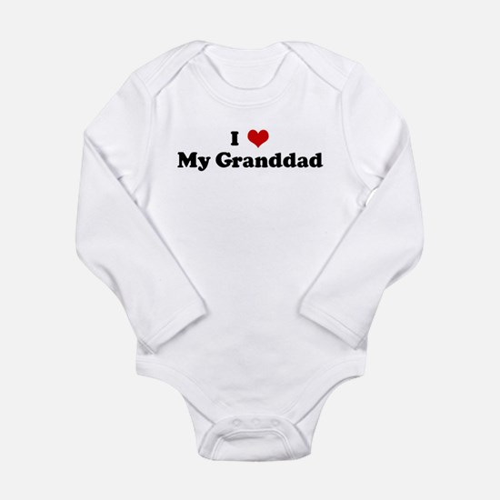 I Love My Granddad Infant Bodysuit Body Suit