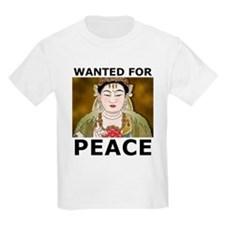 Wanted For Peace Kids T-Shirt
