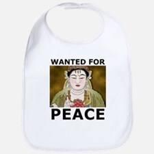 Wanted For Peace Bib