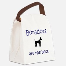 Boradors are the best. Border Col Canvas Lunch Bag