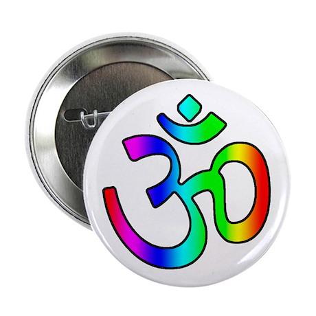 Rainbow Om Button