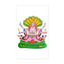 Hinduism Vishnu Sticker (Rect.)