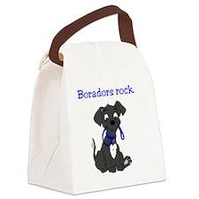 Boradors rock - designer dog bree Canvas Lunch Bag