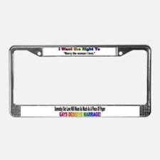 A Piece Of Paper License Plate Frame