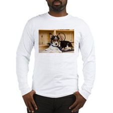 Science Dog Long Sleeve T-Shirt
