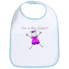 I'm a Big Sister Bib