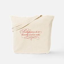 Presbyterians Tote Bag