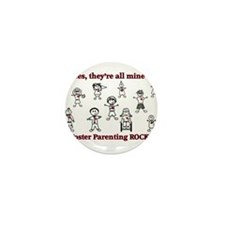 Cute Foster care Mini Button (100 pack)
