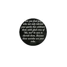 Cute Tribe Mini Button