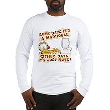 Garfield Just Nuts Long Sleeve T-Shirt