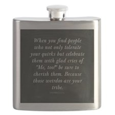 Cute Tribes Flask