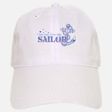 This girl loves her Sailor Baseball Baseball Cap