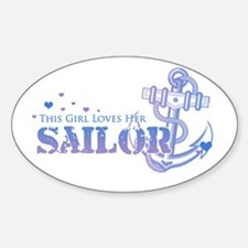 This girl loves her Sailor Oval Decal